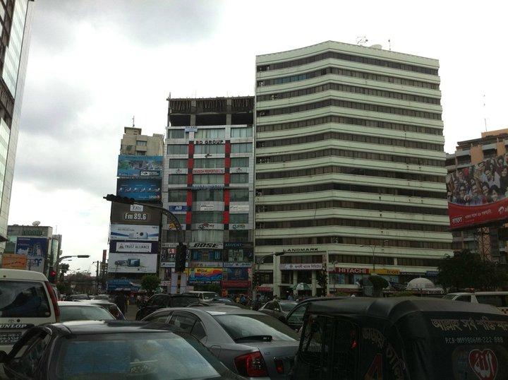 バングラデシュ ダッカ市内の風景